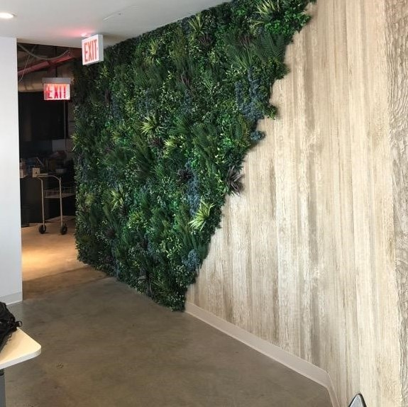 Infosys - World Trade Center New York City - Indoor Green Wall